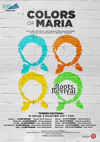 Roots Revival România - Colors of Maria București