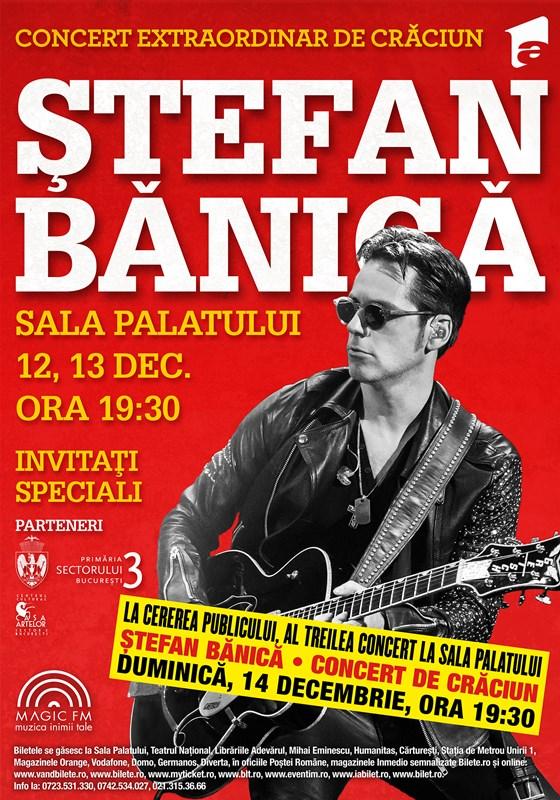 Ștefan Bănică - Concerte de Crăciun la Sala Palatului