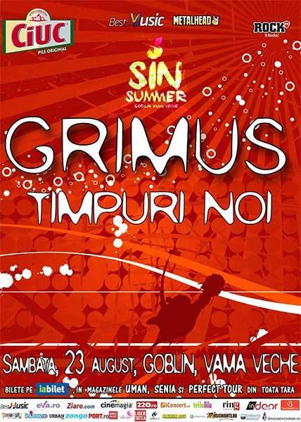 SIN SUMMER: Grimus și Timpuri Noi