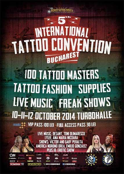 International Tattoo Convention Bucharest 2014