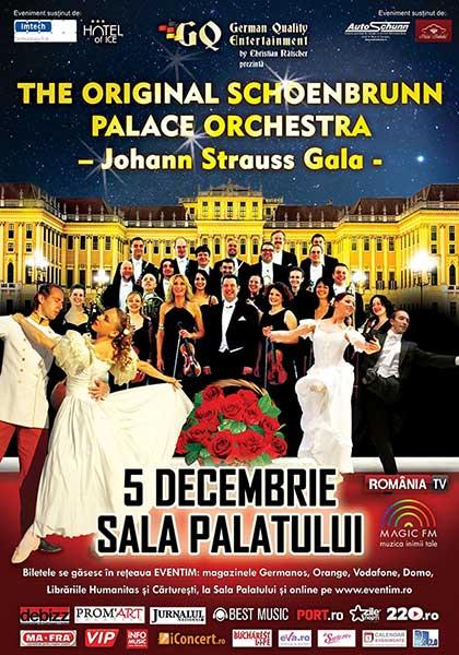 The Original Schoenbrunn Palace Orchestra – Johann Strauss Gala