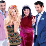 """Juriul sezonului 6 al emisiunii """"Te Cunosc de Undeva!"""" - Aurelian Temisan, Andreea Balan, Ozana Barabancea , Andrei Aradits"""