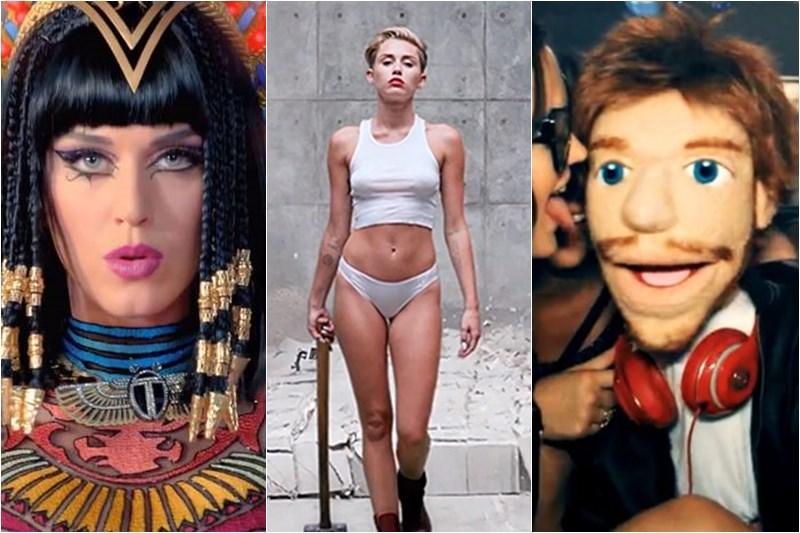Katy Perry / Miley Cyrus / Ed Sheeran