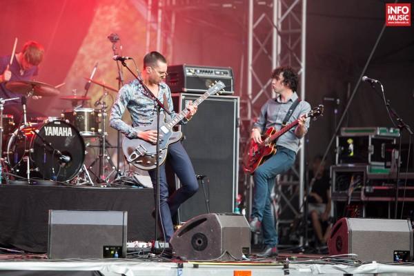 Concert Miles Kane la Summer Well 2014