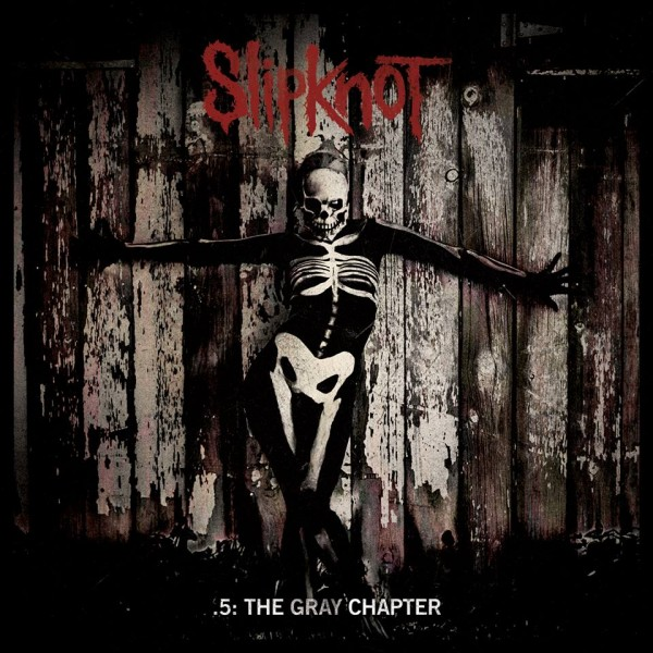 "Slipknot - "".5: The Gray Chapter"" (copertă album)"