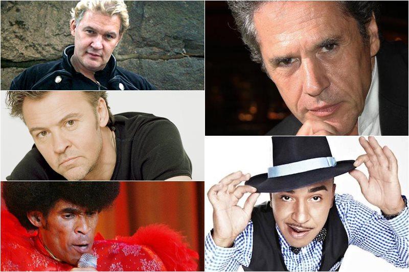 Paul Young, Lou Bega, Boney M, Johnny Logan, Gazebo