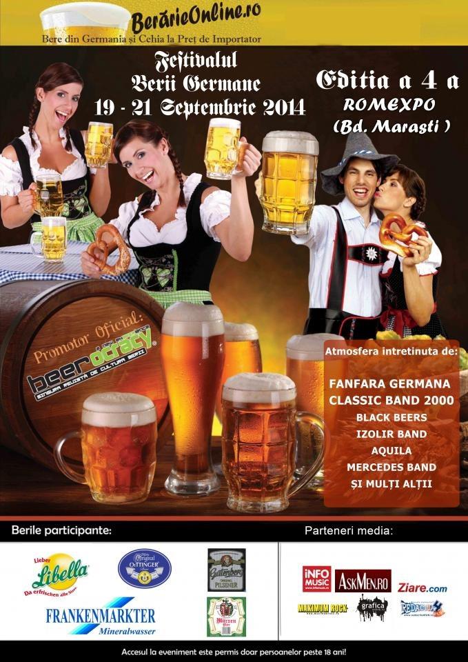Festivalul Berii Germane 2014