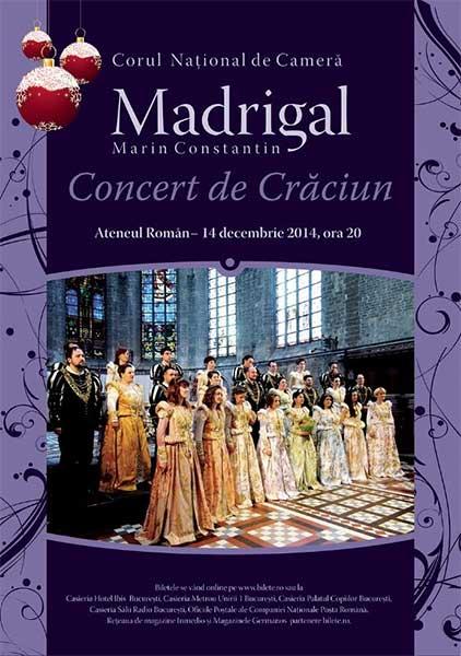 Madrigal - Concert extraordinar de Crăciun