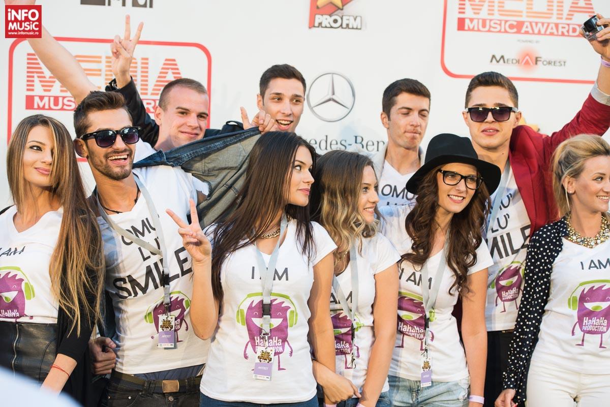 Fanii lui Smiley la Media Music Awards 2014 - Sibiu