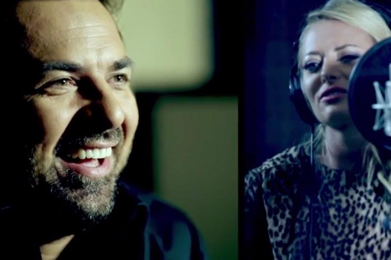 Horia Brenciu și Delia - Inima Nu Vrea (imagine de la înregistrări)