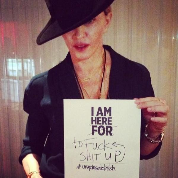 Madonna în studioul de înregistrări