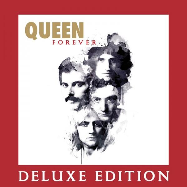 """Queen Forever"" (copertă album - ediția deluxe)"