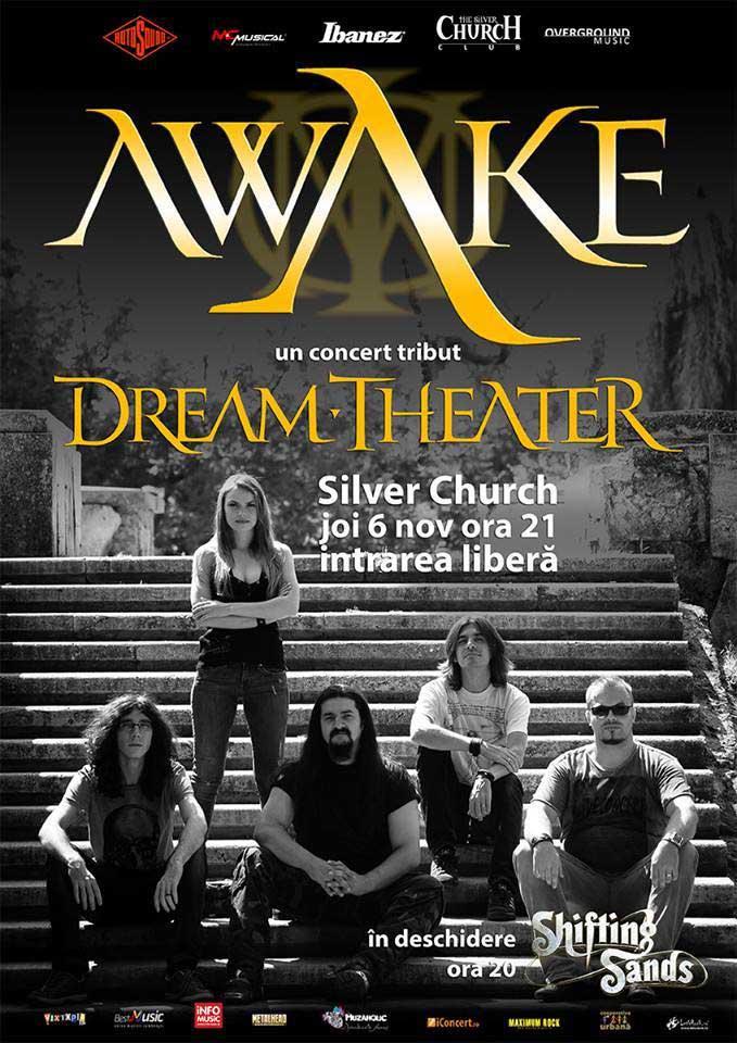 AWAKE - concert-tribut Dream Theater