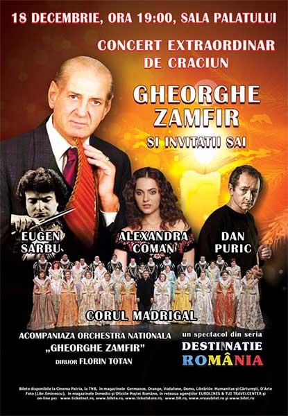 Gheorghe Zamfir și invitații săi