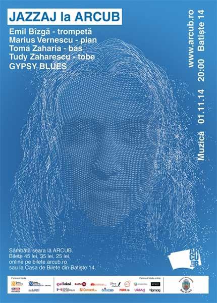 JAZZAJ LA ARCUB: GYPSY BLUES cu Emil Bîzgă