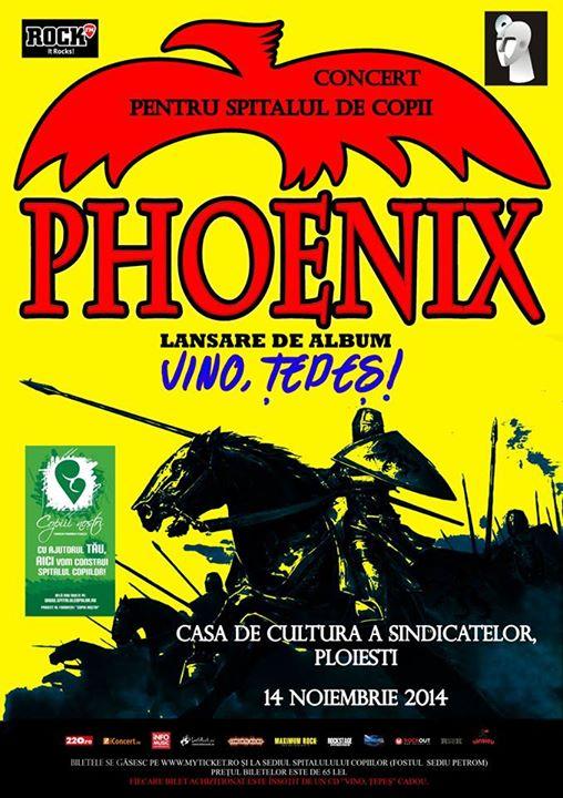 "Phoenix - Lansare album ""Vino, Țepeș!"""