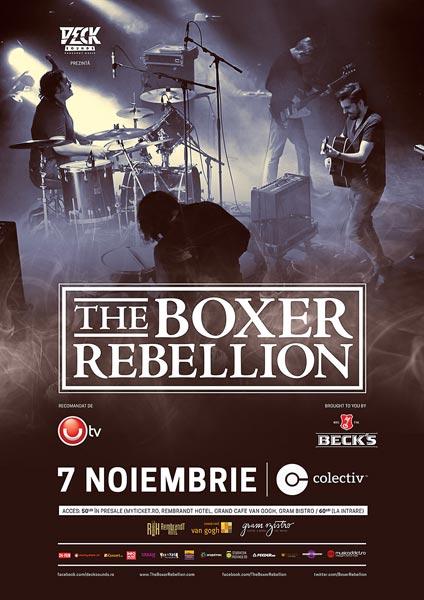 afis-the-boxer-rebellion-club-colectiv-bucuresti-07-noiembrie-2014
