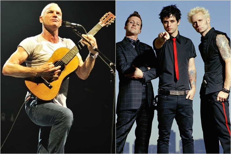 Sting și Green Day, nominalizați la Rock And Roll Hall Of Fame 2015
