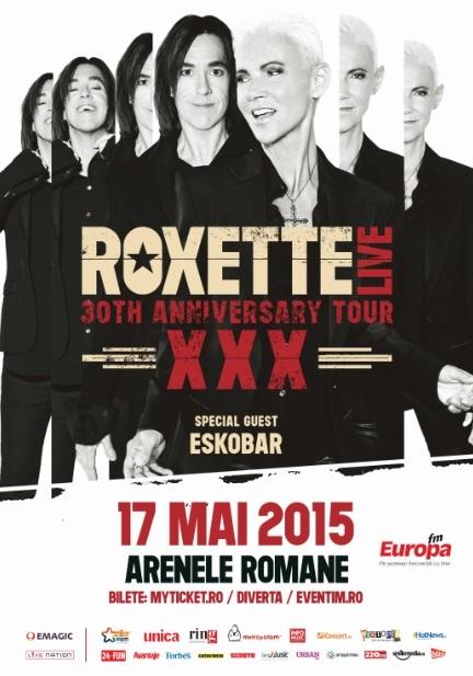 Concert Roxette Bucuresti 2015