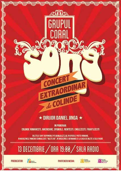SONG - Concert extraordinar de colinde