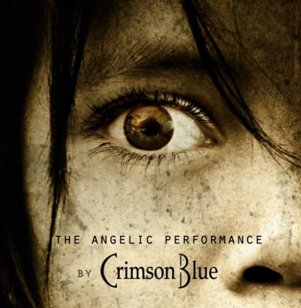 "Crimson Blue - ""The Angelic Performance"" (copertă album)"