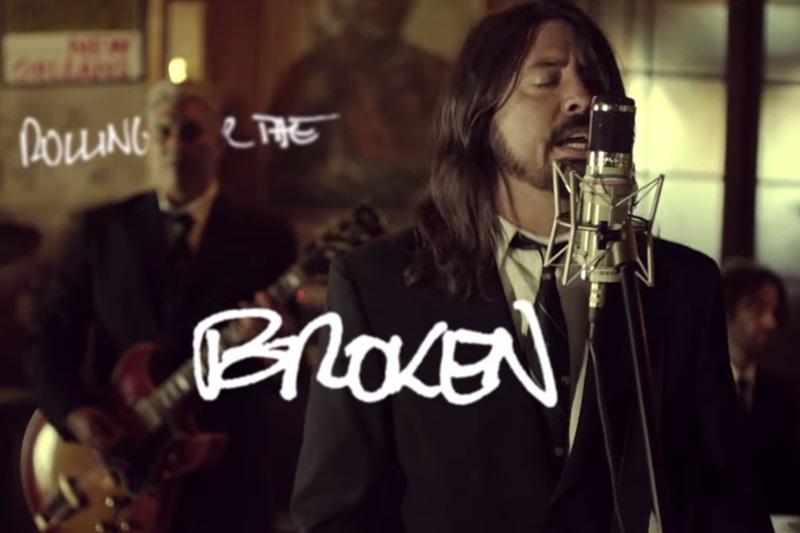 Foo Fighters - In The Clear (secvență video)