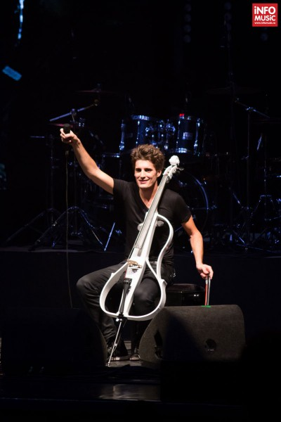 Luka Šulić - Concert 2Cellos - Bucuresti 2014