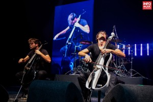Concert 2Cellos - Bucuresti 2014