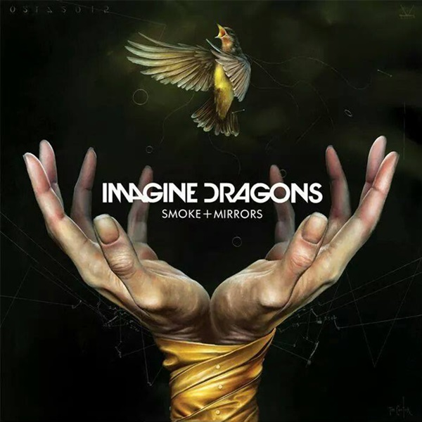 "Imagine Dragons - ""Smoke + Mirrors"" (copertă album)"