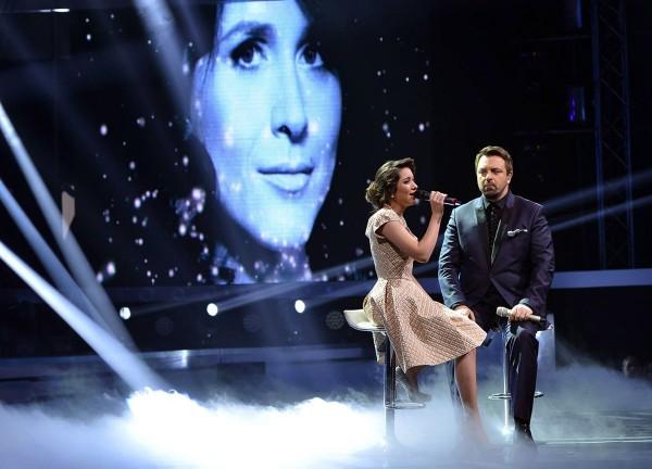 Adina Răducan în duet cu Horia Brenciu în finala X Factor România 2014
