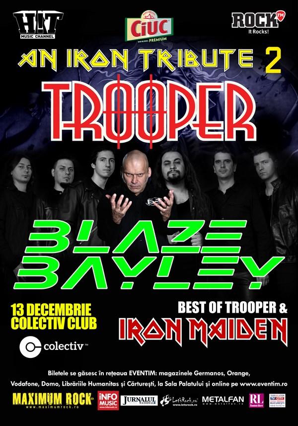 An Iron Tribute 2 cu Trooper și Blaze Bayley