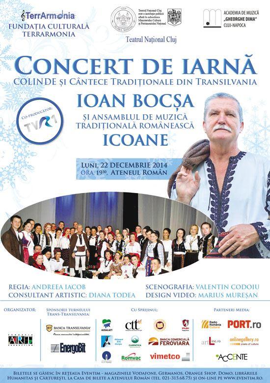 """Concert de colinde - Ioan Bocşa şi Ansamblul """"Icoane"""""""