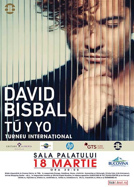 David Bisbal concert in Romania 2015