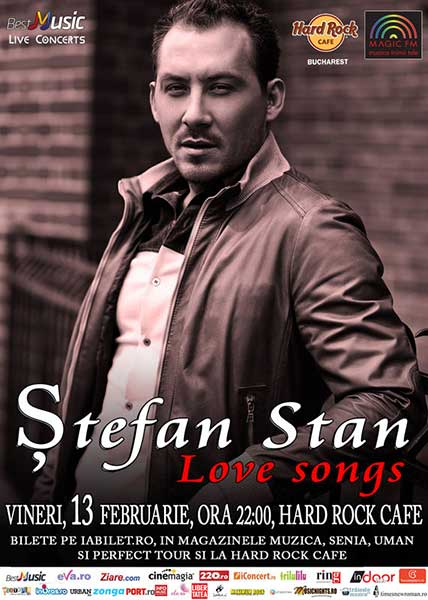 Ștefan Stan - Love Songs
