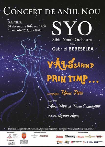Concert de Anul Nou Sibiu 2015 - VALSsarind prin timp... (2)