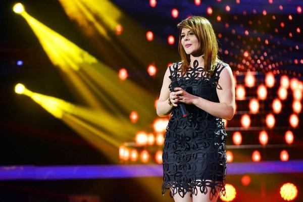 Alexandra Crișan în finala X Factor România 2014