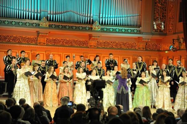 Concertul de Craciun sustinut de Madrigal la Ateneu