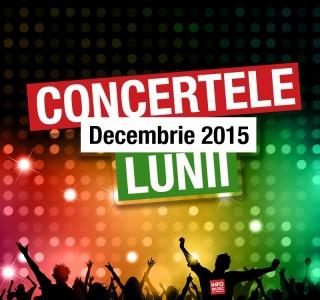 Concerte decembrie 2015