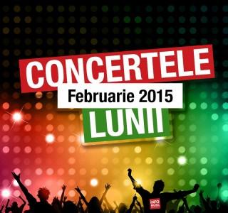 Concerte februarie 2015