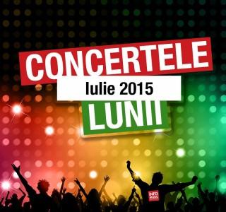 Concerte Iulie 2015
