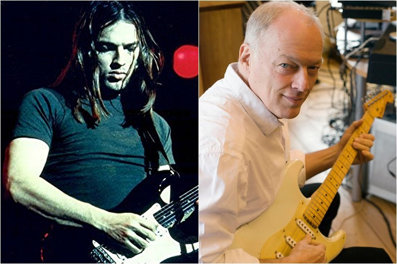 David Gilmour - Then & Now