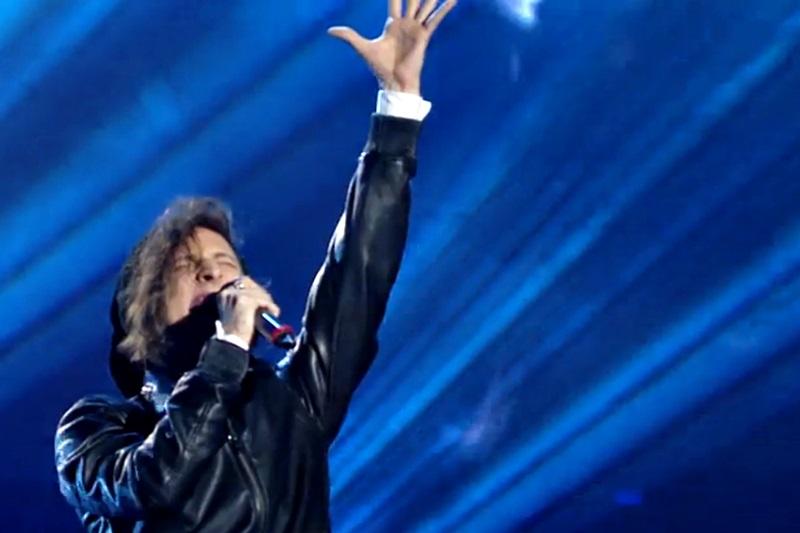 """Tiberiu Albu cântând live """"Dream On"""" la Vocea României"""