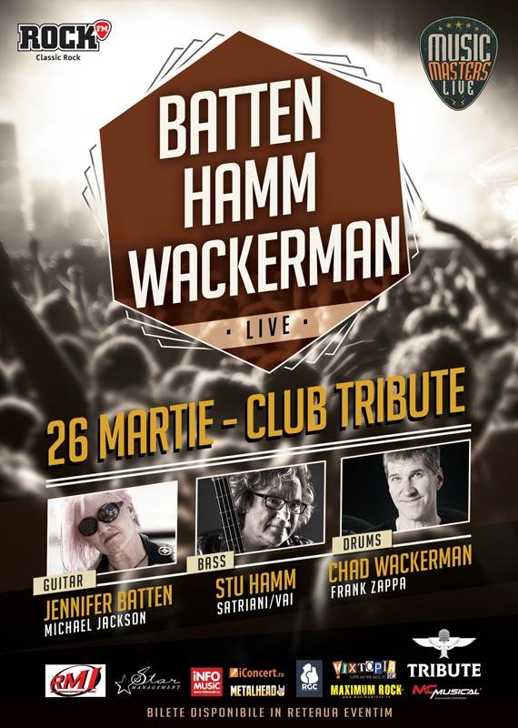 Music Masters Live - Jennifer Batten, Stuart Hamm și Chad Wackerman