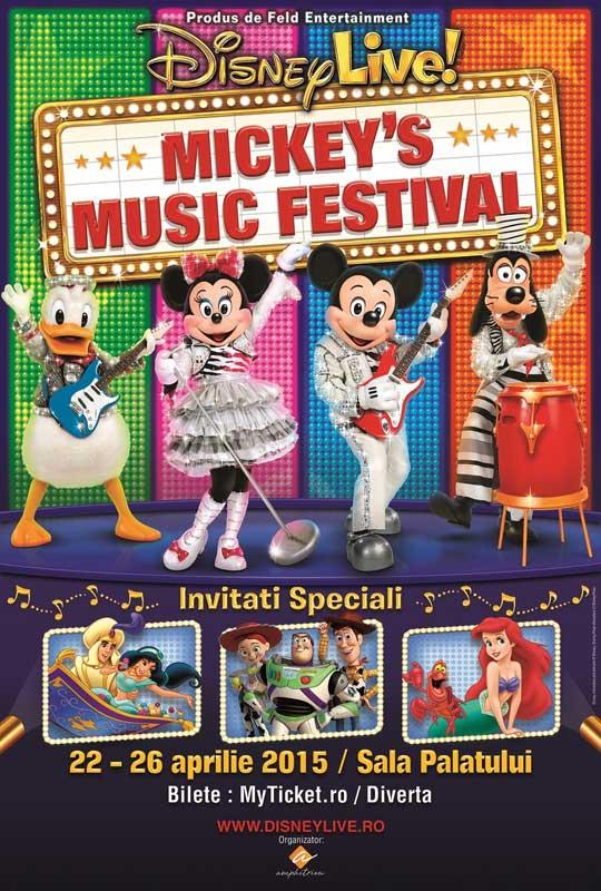 Disney Live! Mickey's Music Festival la Sala Palatului