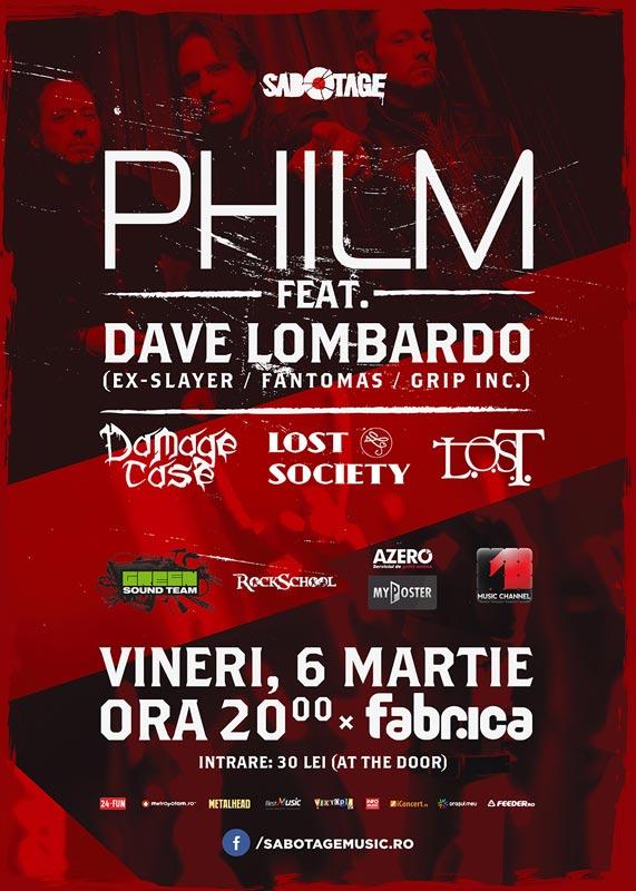 PHILM Feat. DAVE LOMBARDO | Damage Case | Lost Society | L.O.S.T