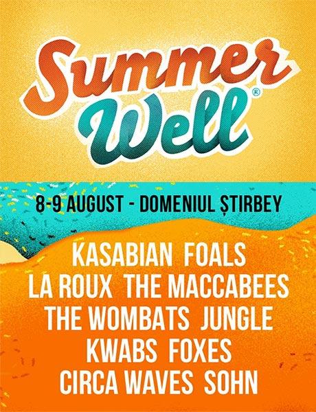 Summer Well 2015 la Domeniul Știrbey