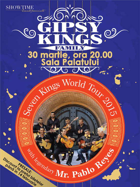 The Gipsy Kings concert Sala Palatului