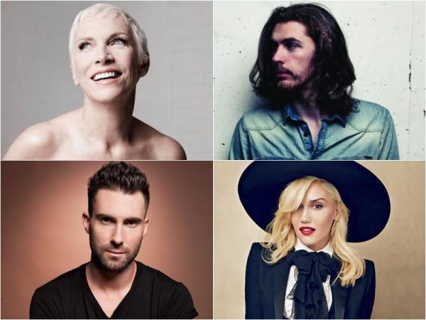 Annie Lennox & Hozier / Adam Levine & Gwen Stefani