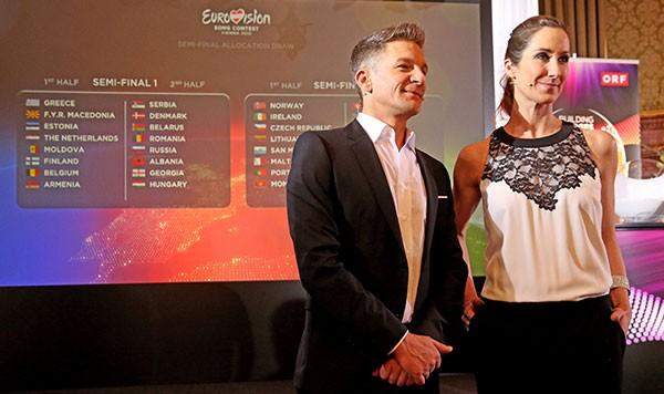 Kati Bellowitsch și Andi Knoll au făcut extragerile țărilor din semifinale