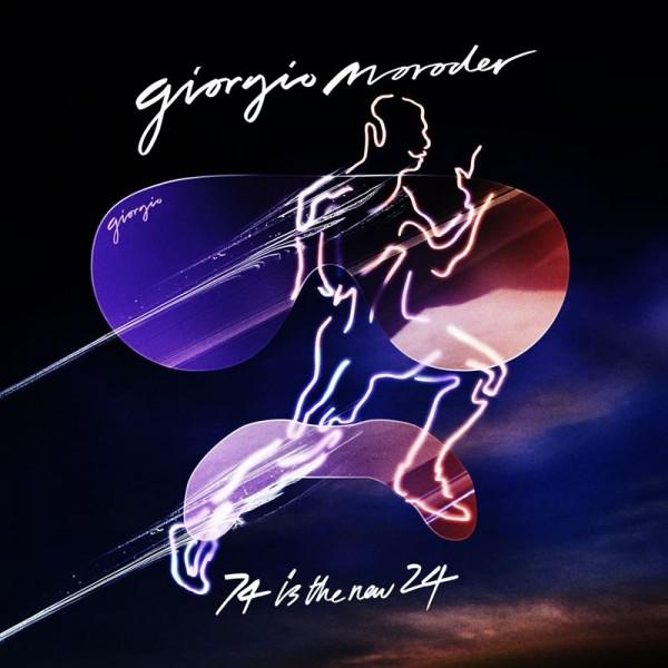 """Giorgio Moroder - """"74 Is the New 24"""" (copertă album)"""